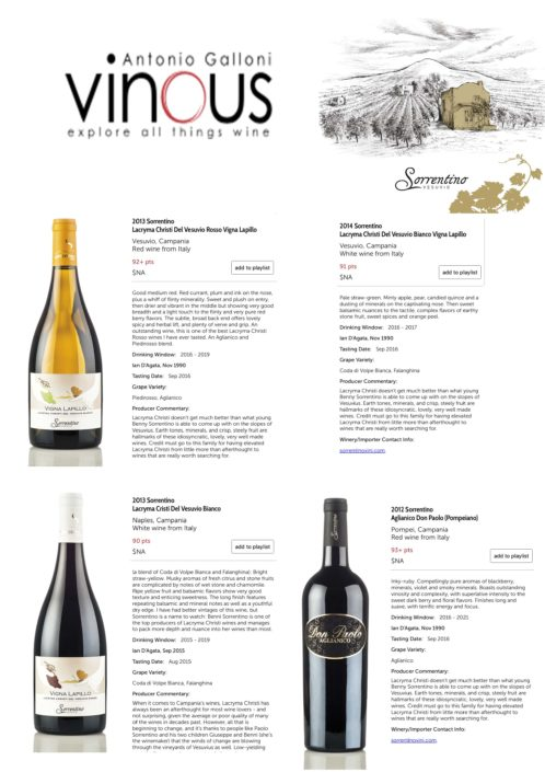 Vinous by Antonio Galloni