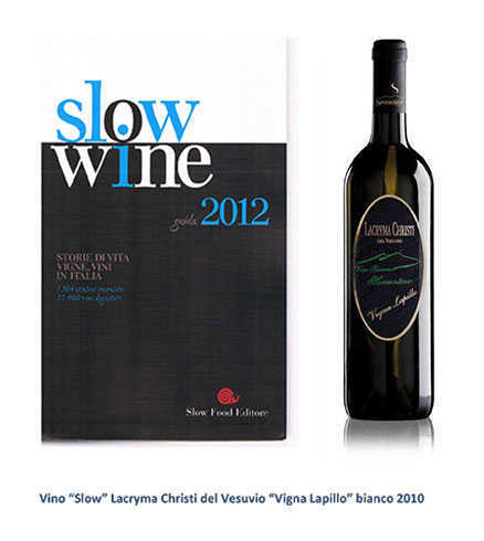 Slow Wine Vigna Lapillo 2012