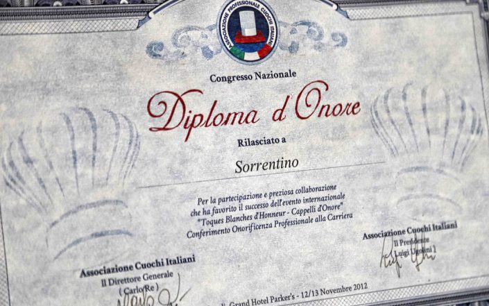 Evento Cappelli d'Onore 2012